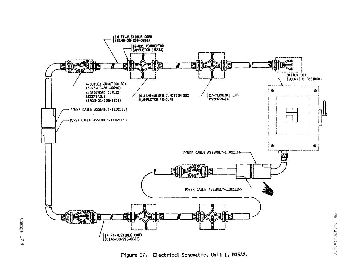 Figure 17  Electrical Schematic  Unit 1  M35a2