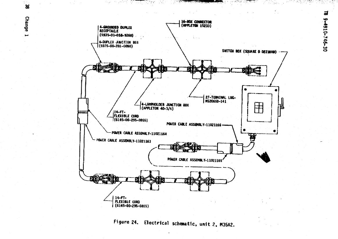 M35a2 Wiring Schematic Library Harness Electrical Unit 2