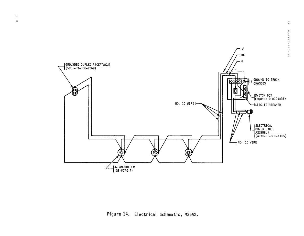 M35a2 Wiring Schematic Data Schematics Wiring Diagram