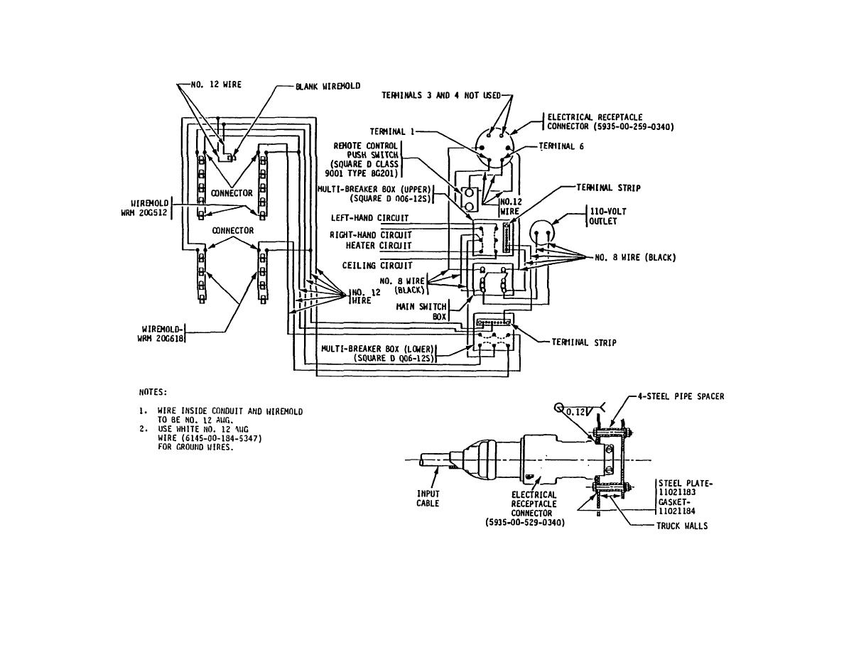 figure 16  wiring diagram  m109a3