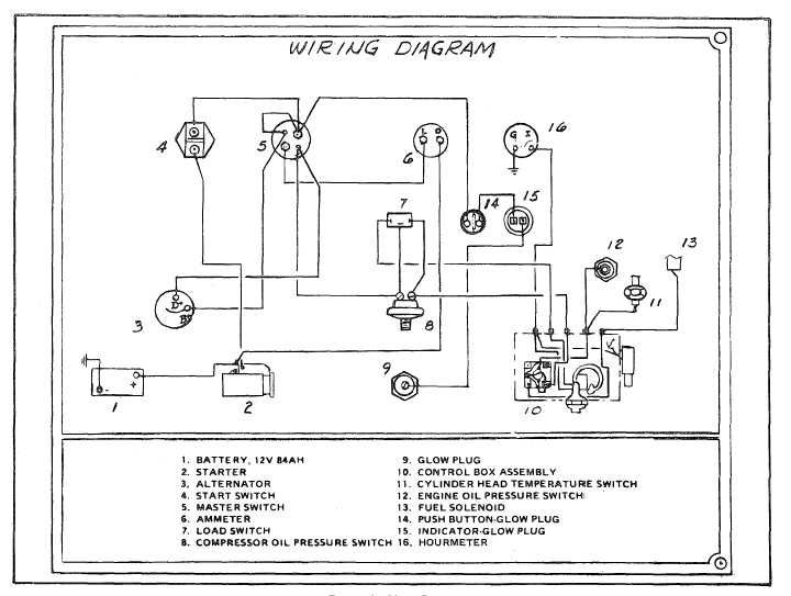 single phase compressor wiring schematics | get free image about
