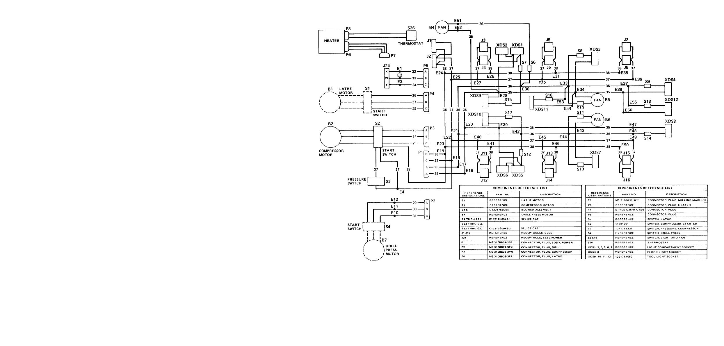 Welder single phase wiring diagram three star